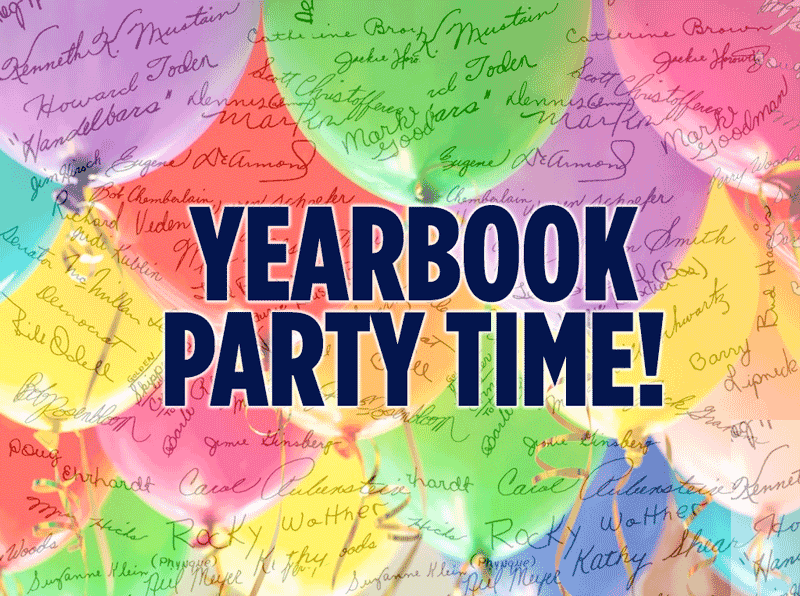 Yearbook Signing Party | Picaboo Yearbooks